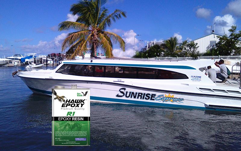 sunrise express boat photo 1