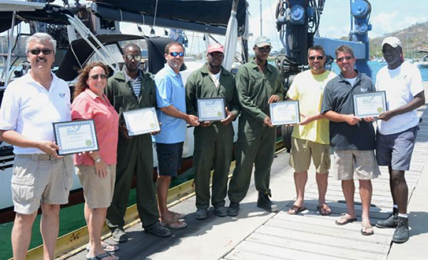 Carriacou-Marine-getting-awards